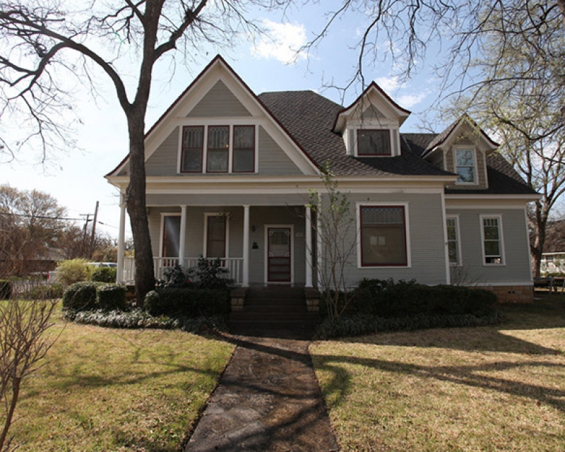 Granbury, Texas Restoration of Bowden-Kennon House