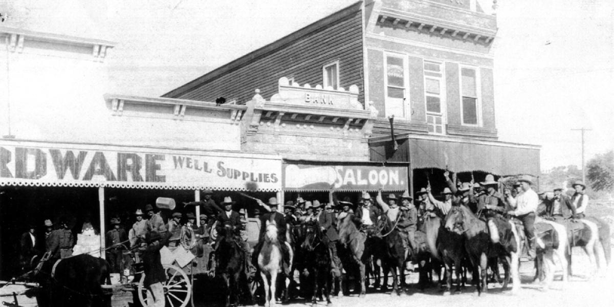 Historic Texas Photo, Photography, Sonora Texas Cowboys